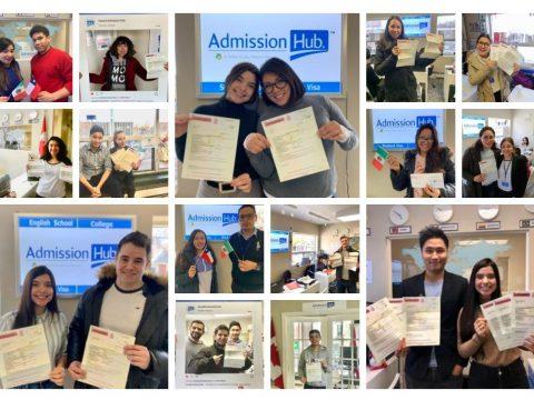 Admission visa